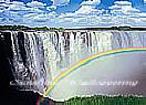 Rainbow Falls 8-9036 Large Waterfall Wall Murals
