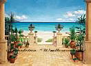 Terrace Seascape 110 Large Wall Murals