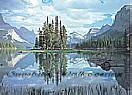 Reflections 1802 Large Mountain Wall Murals