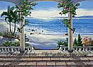 Ocean View PR1813 beach wall mural