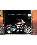 Harley RR bike Children's Wall Murals