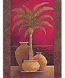 Potted Palm 2 (Brown)  discount wallpaper murals