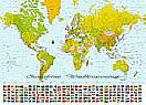 World Map 280 Large Wall murals