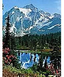 Mountain Peak 307 Wallpaper wall murals