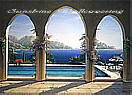 Arch De Sorrento 3903 Large Wall murals