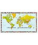 World Map 655 wallpaper Large Wall Maps
