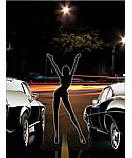 Street Racing wallpaper wall mural