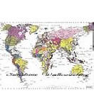 World Map 1-050 Large Wall Maps