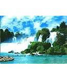 China Waterfall 8-057 wallpaper wall mural