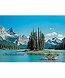 Maligne Lake 8-078 wallpaper wall mural