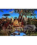 Jungle BZ9106M Children's Wall Murals