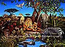 Jungle Mural BZ9103M york wallpaper wall mural
