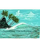 Hang Ten RA0122M wall mural
