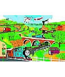 Thomas Tank Engine wall murals