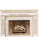 Fireplace  wall murals