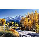 Autumn Landscape Mountain Wall Murals