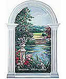 Garden View 20269 wallpaper wall mural