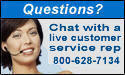 Customer Service Toll Free Phone 800-628-7134