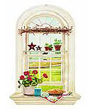 Kitchen Window wallpaper wall mural