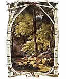 Into The Woods wallpaper wall mural